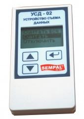 Устройство съема данных для теплосчетика Sempal. Избавляет от необходимости ежедневного снятия показаний