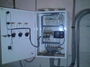 Регулятор потребления тепла зданием по погодным условиям Danfoss ECL Comfort, установка в щите.