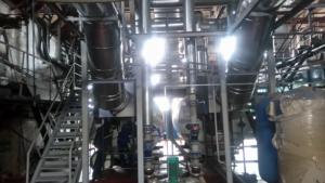 Дымоходы реконструированной КБ Теплоэнерго котельной ИМТП
